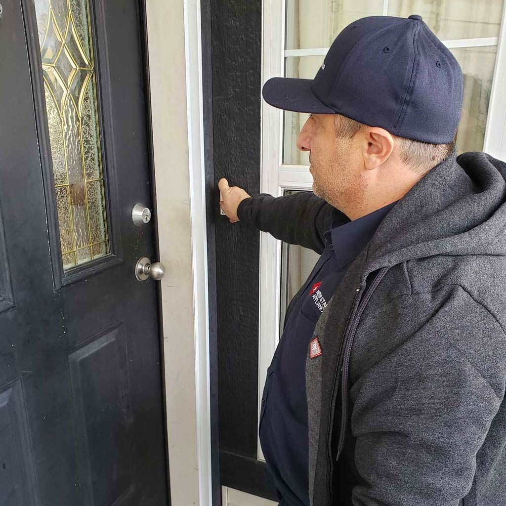 Mike ringing doorbell same day service