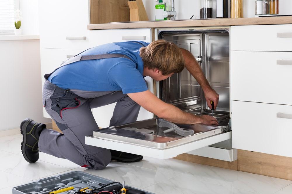 Dishwasher appliance repair