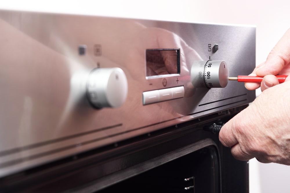 Electric stove repair service