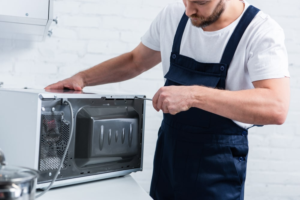 Can a microwave be repaired by a professional