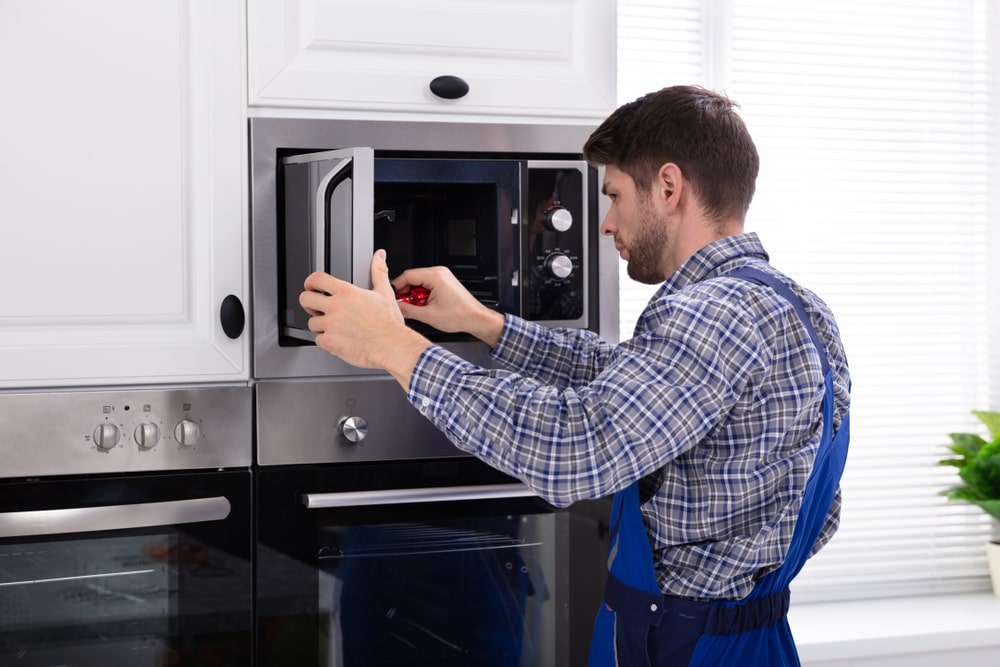 Getting microwave be repaired by a professional