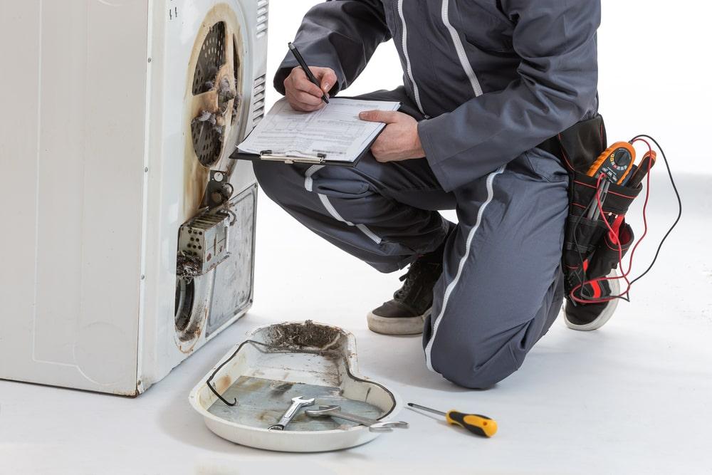 Dryer repair work