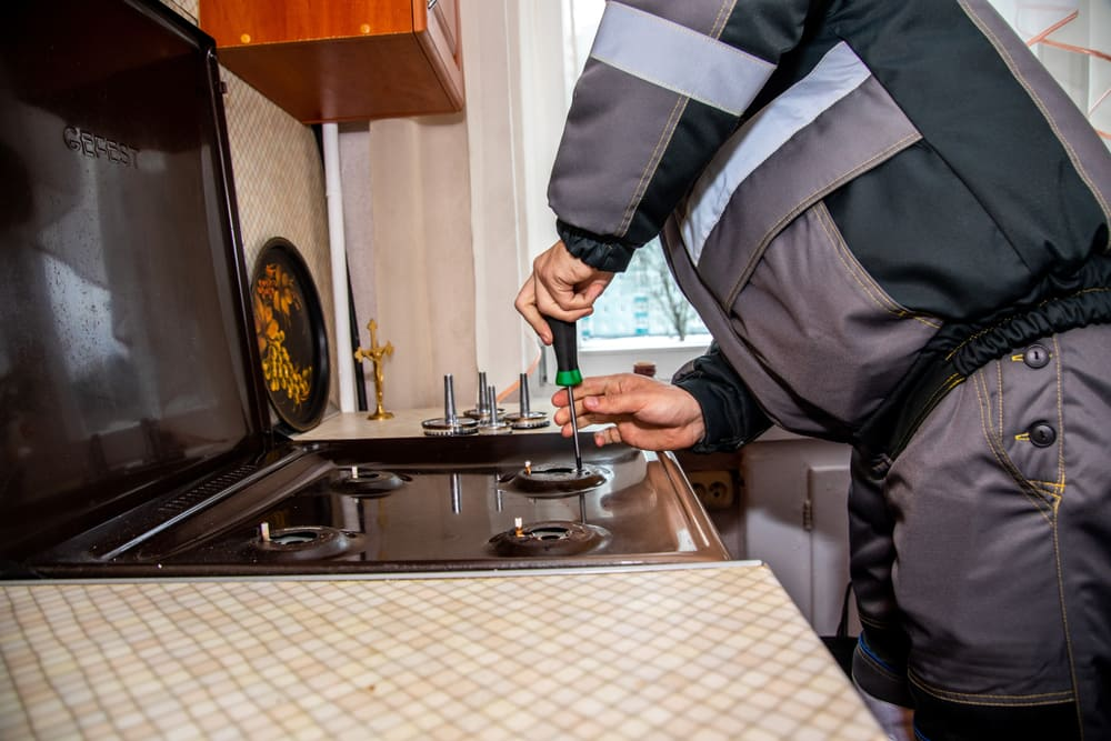 Electric stove repair service