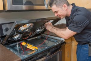 Electric stove repair service in Calgary