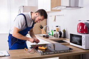 Stove appliance repair